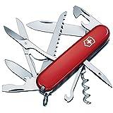 Victorinox Taschenmesser Huntsman (15 Funktionen, Große Klinge, Schere, Holzsäge, Schraubendreher)