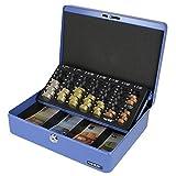 HMF 10015-05 Geldkassette Geldzählkassette 30 x 24 x 9 cm , blau