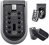 Nestling® Schlüsseltresor Schlüsselsafe Schlüsselbox Keygarage mit 4-Stelligem Individuell Einstellbarer Zahlencode wetterfest passend für Schlüssel Plastikkarten Haus Garagen Schule Schlüsselbox