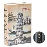 Parrency Buchsafe mit Zahlenschloss, versteckter Safe Lock Box, groß, Medium, 22 x 15 x 3.8 cm - Medium, Italy, SBH-MM-M007