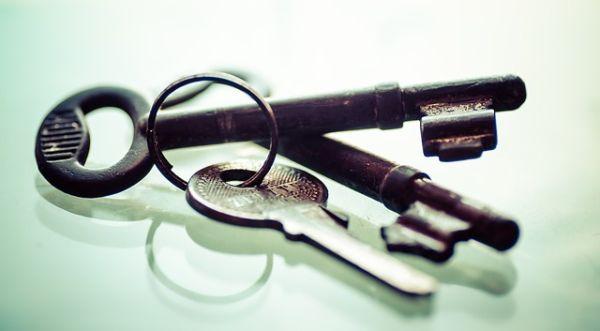 Schlüsseltresor für den Außenbereich