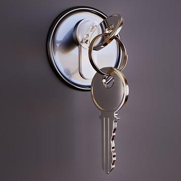 Schlüsseltresor mit elektronischem Code oder Zahlenschloss